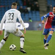Fussball Super League - FC Basel - FC Lugano
